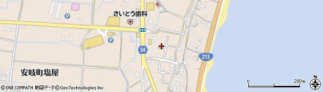 大分県国東市安岐町塩屋1681周辺の地図