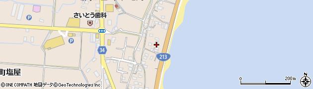 大分県国東市安岐町塩屋1711周辺の地図