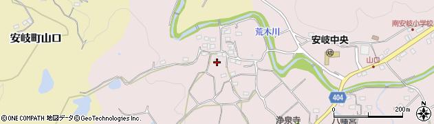 大分県国東市安岐町下山口666周辺の地図