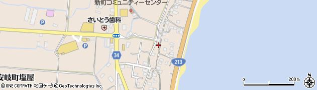 大分県国東市安岐町塩屋1703周辺の地図