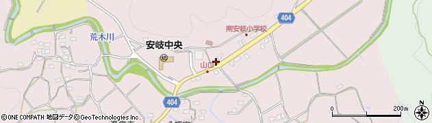 大分県国東市安岐町下山口567周辺の地図