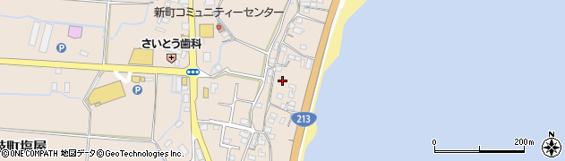 大分県国東市安岐町塩屋1713周辺の地図