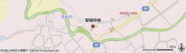 大分県国東市安岐町下山口606周辺の地図