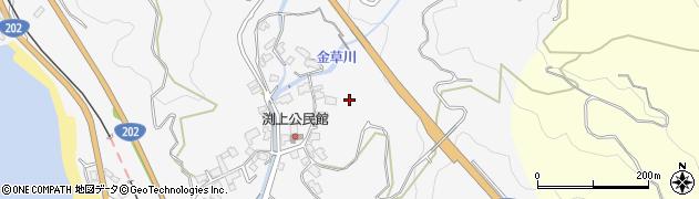 佐賀県唐津市浜玉町渕上周辺の地図