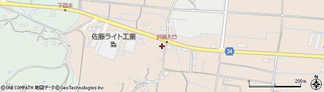 大分県国東市安岐町西本1976周辺の地図
