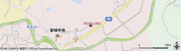 大分県国東市安岐町下山口563周辺の地図