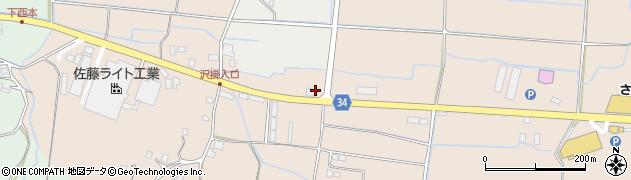 大分県国東市安岐町西本1353周辺の地図