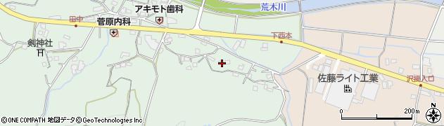 大分県国東市安岐町西本1157周辺の地図