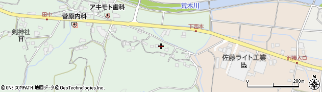 大分県国東市安岐町西本1151周辺の地図