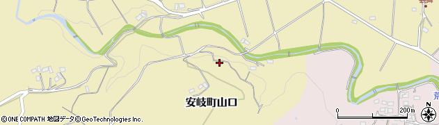 大分県国東市安岐町山口972周辺の地図