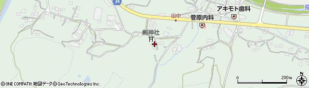 大分県国東市安岐町西本659周辺の地図