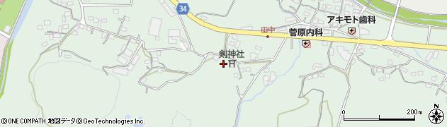 大分県国東市安岐町西本664周辺の地図