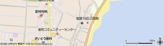 大分県国東市安岐町塩屋1754周辺の地図