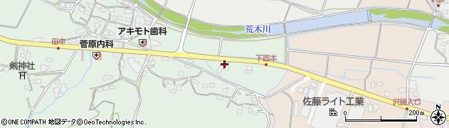 大分県国東市安岐町西本1093周辺の地図