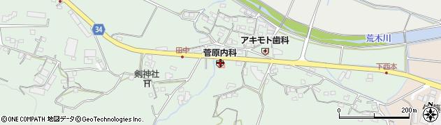 大分県国東市安岐町西本901周辺の地図