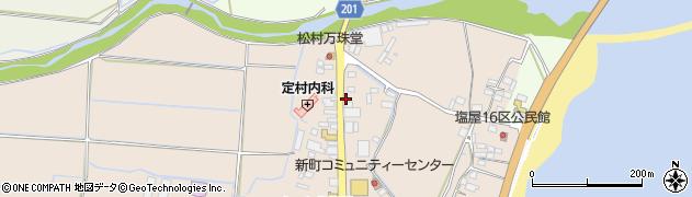 大分県国東市安岐町塩屋周辺の地図