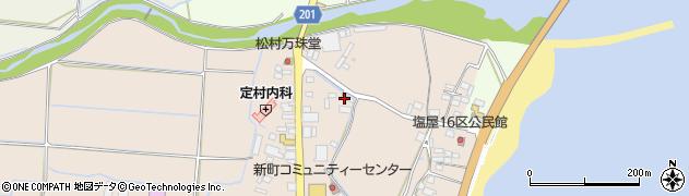 大分県国東市安岐町塩屋104周辺の地図