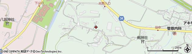 大分県国東市安岐町西本244周辺の地図