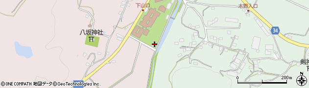 大分県国東市安岐町下山口63周辺の地図