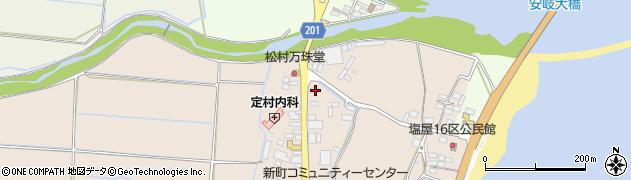 大分県国東市安岐町塩屋108周辺の地図