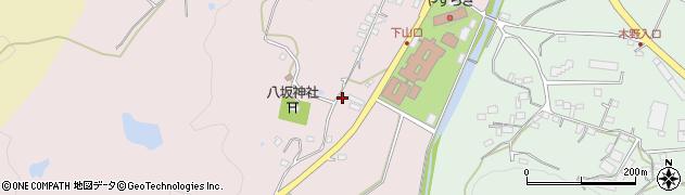 大分県国東市安岐町下山口86周辺の地図