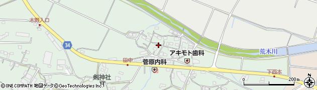 大分県国東市安岐町西本860周辺の地図