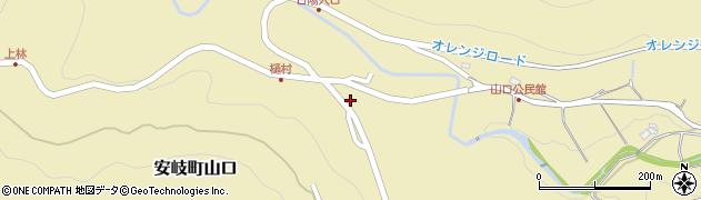 大分県国東市安岐町山口2575周辺の地図