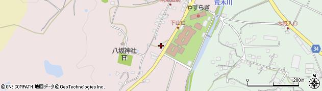 大分県国東市安岐町下山口81周辺の地図
