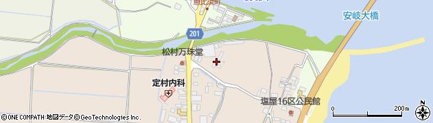 大分県国東市安岐町塩屋2周辺の地図