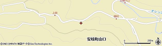 大分県国東市安岐町山口2780周辺の地図