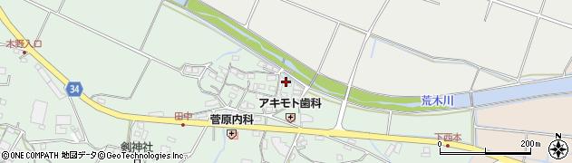 大分県国東市安岐町西本877周辺の地図