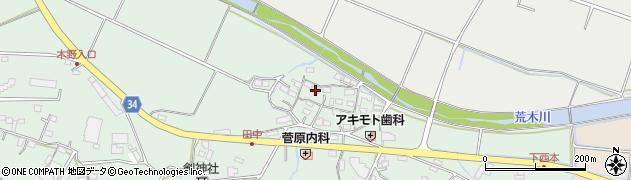 大分県国東市安岐町西本859周辺の地図