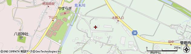 大分県国東市安岐町西本219周辺の地図
