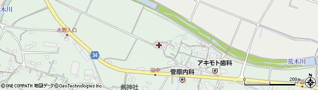 大分県国東市安岐町西本129周辺の地図