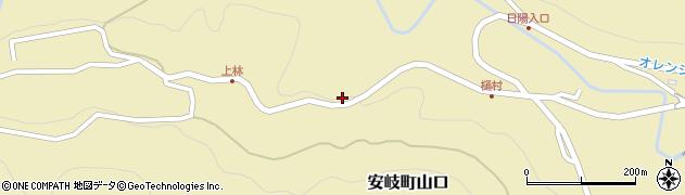 大分県国東市安岐町山口2998周辺の地図