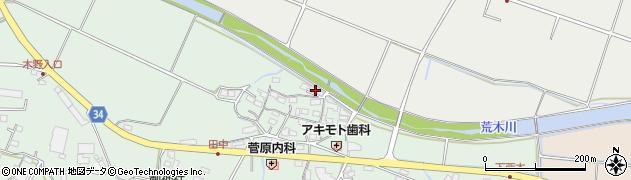 大分県国東市安岐町西本856周辺の地図
