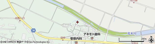 大分県国東市安岐町西本848周辺の地図