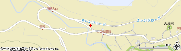 大分県国東市安岐町山口1947周辺の地図