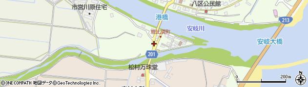 大分県国東市安岐町下原2716周辺の地図