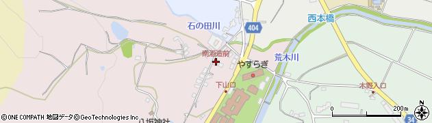 大分県国東市安岐町下山口18周辺の地図
