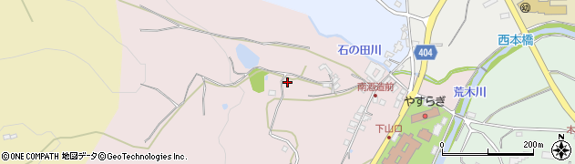 大分県国東市安岐町下山口下組周辺の地図