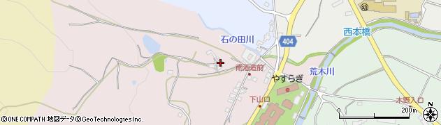 大分県国東市安岐町下山口265周辺の地図