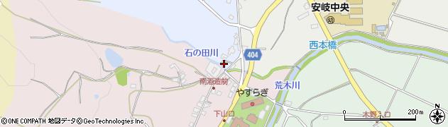 大分県国東市安岐町成久153周辺の地図