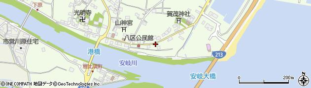 大分県国東市安岐町下原2417周辺の地図