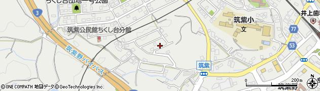 福岡県筑紫野市筑紫周辺の地図