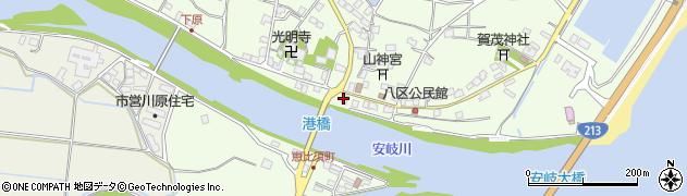 大分県国東市安岐町下原2464周辺の地図