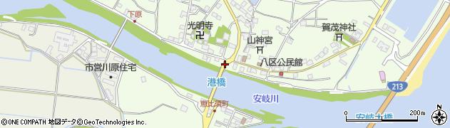 大分県国東市安岐町下原2468周辺の地図