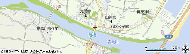大分県国東市安岐町下原2469周辺の地図
