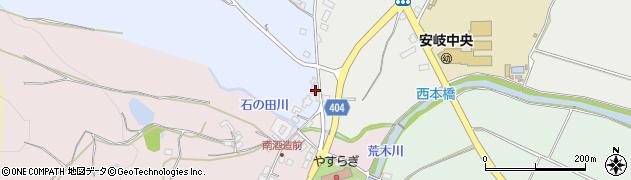 大分県国東市安岐町成久147周辺の地図