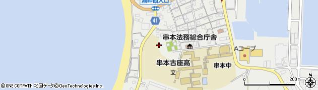潮崎本之宮神社周辺の地図